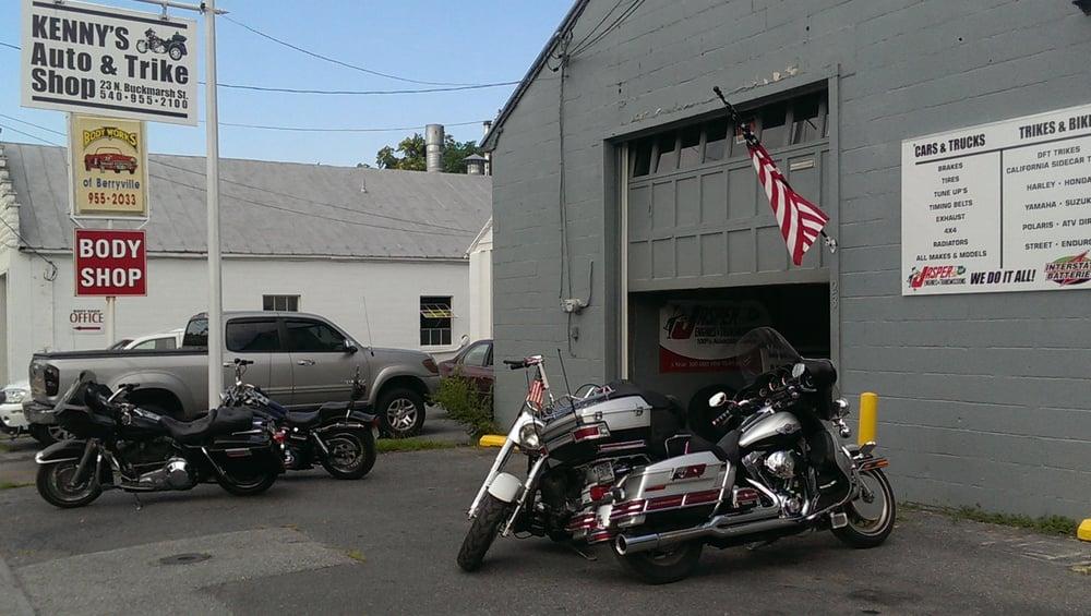 Kenny's Auto & Trike Shop: 23 N Buckmarsh St, Berryville, VA