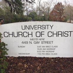 University Church Of Christ - 449 N Gay St, Auburn, AL