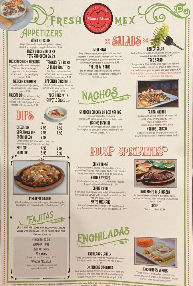 Mama Rita's Mexican Kitchen: 922 Forrester Dr SE, Dawson, GA