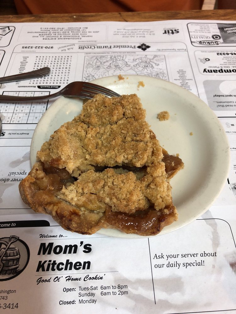 Mom's Kitchen Cafe: 101 S Washington St, Otis, CO
