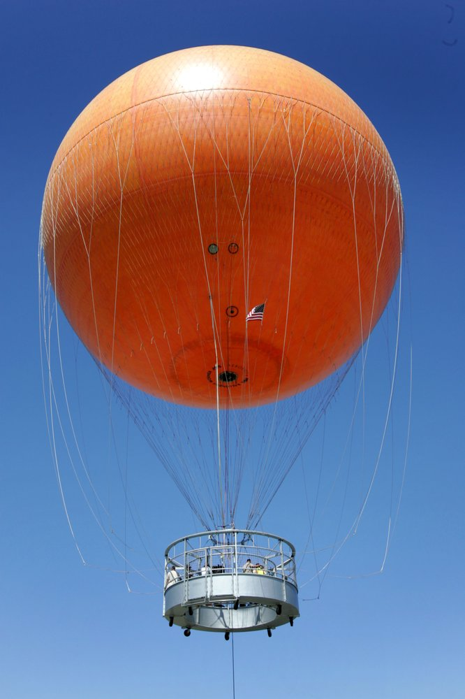 The Great Park Balloon: Marine Way And Sand Canyon, Irvine, CA