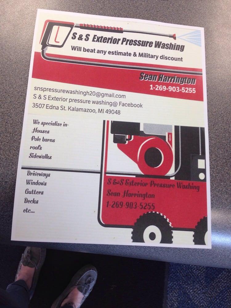 S & S Exterior Pressure Washing: 3509 Edna Blvd, Kalamazoo, MI