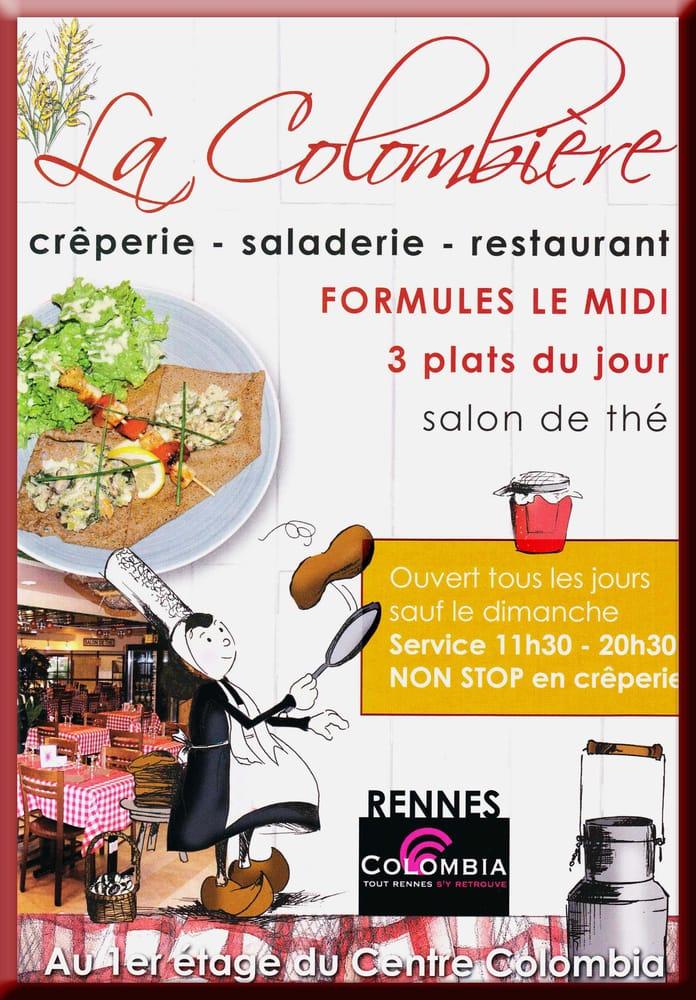 La colombi re pannenkoeken poffertjes 40 place du for Restaurant o 23 rennes