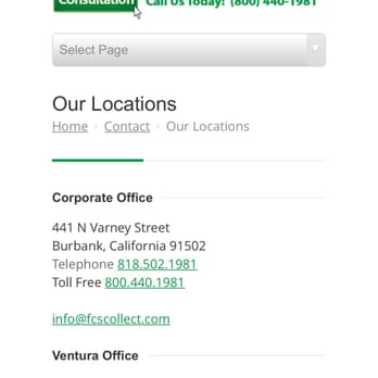 Photo Of Fidelity Creditor Service   Glendale, CA, United States. This Is  The