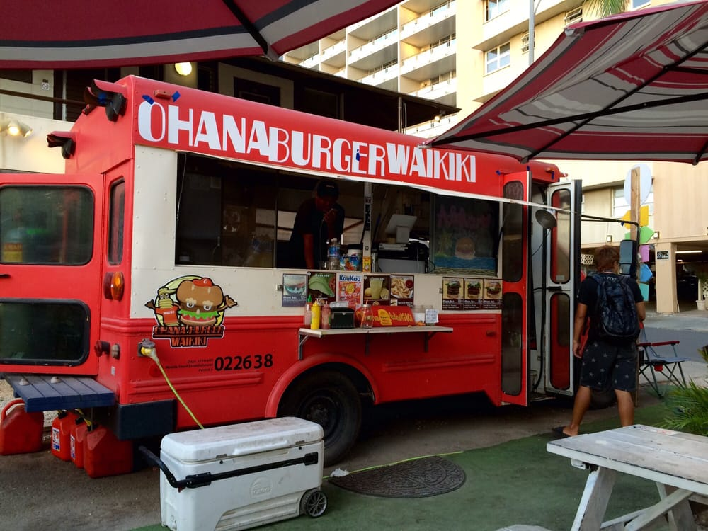 Ohana burger waikiki photos reviews burgers