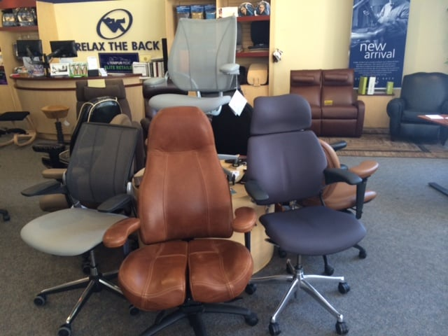 humanscale lifeform office chairs footrests desks monitor arms