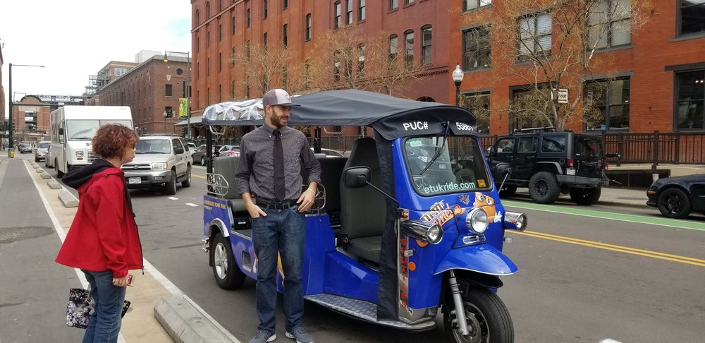 eTuk Ride Denver