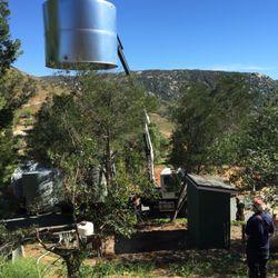 Photo Of BG PUMP   Ramona, CA, United States. Storage Tank Installed Over
