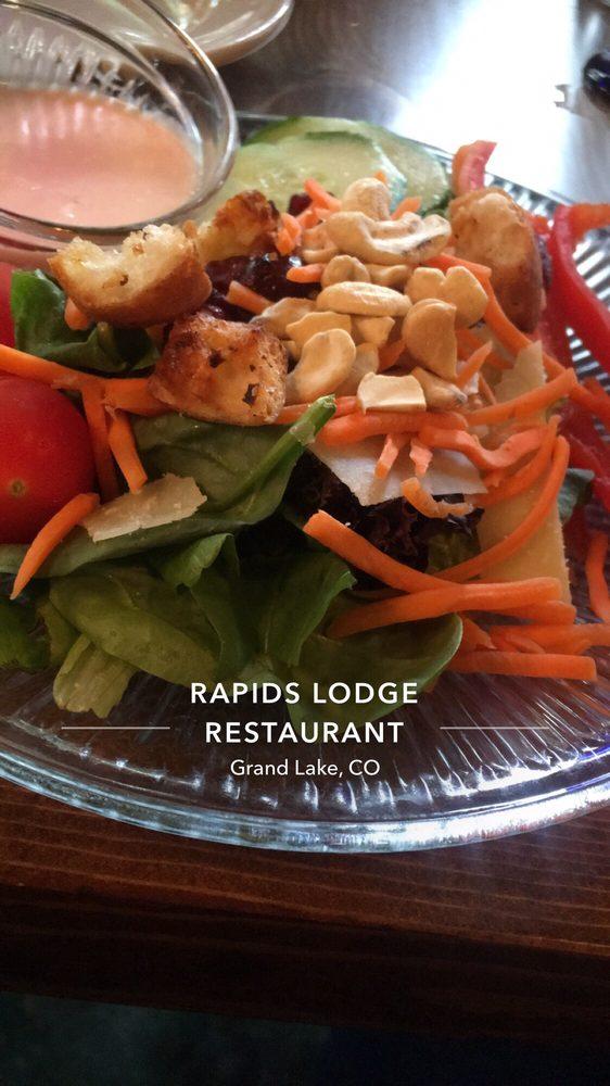 The Historic Rapids Lodge & Restaurant: 210 Rapids Ln, Grand Lake, CO