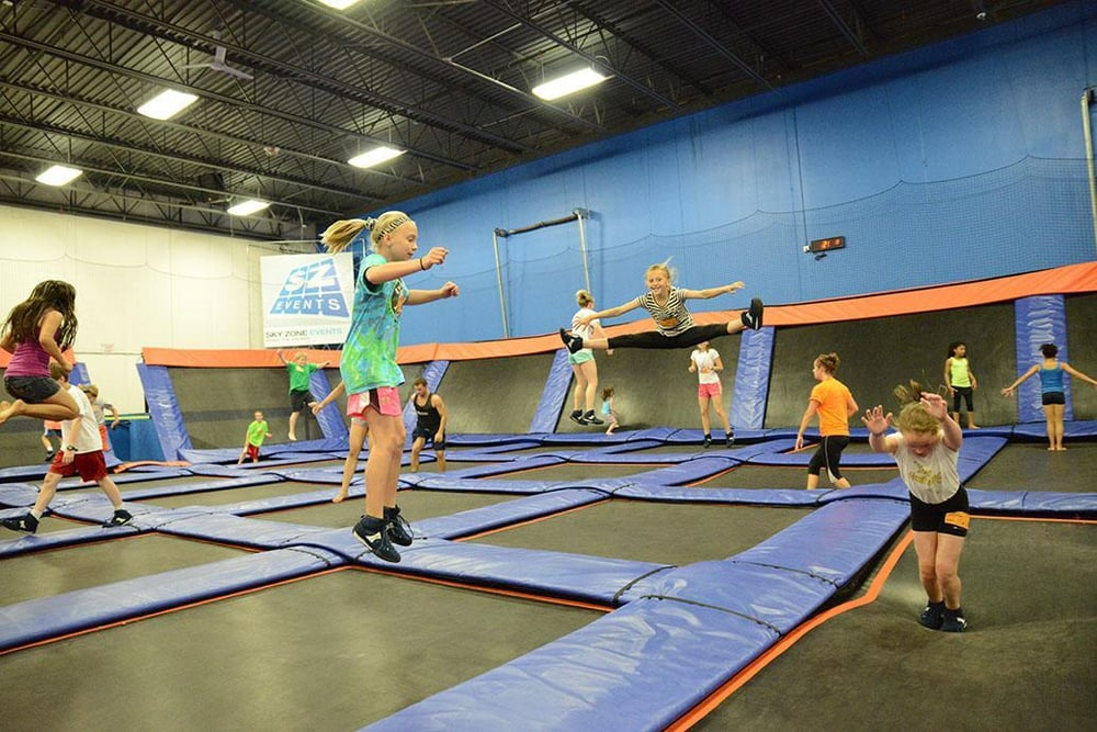 Photos For Sky Zone Trampoline Park