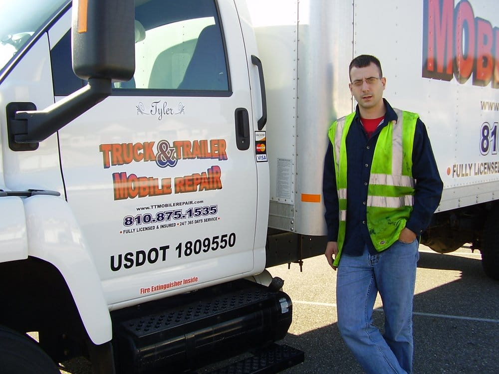 Truck & Trailer Mobile Repair: 1410 East Coldwater Rd, Flint, MI