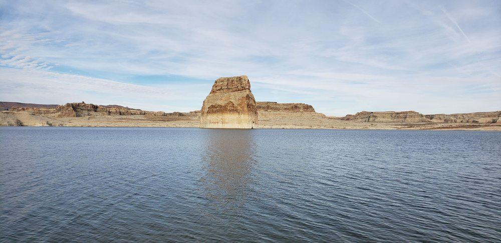 Lone Rock: Lone Rock Road, Big Water, UT