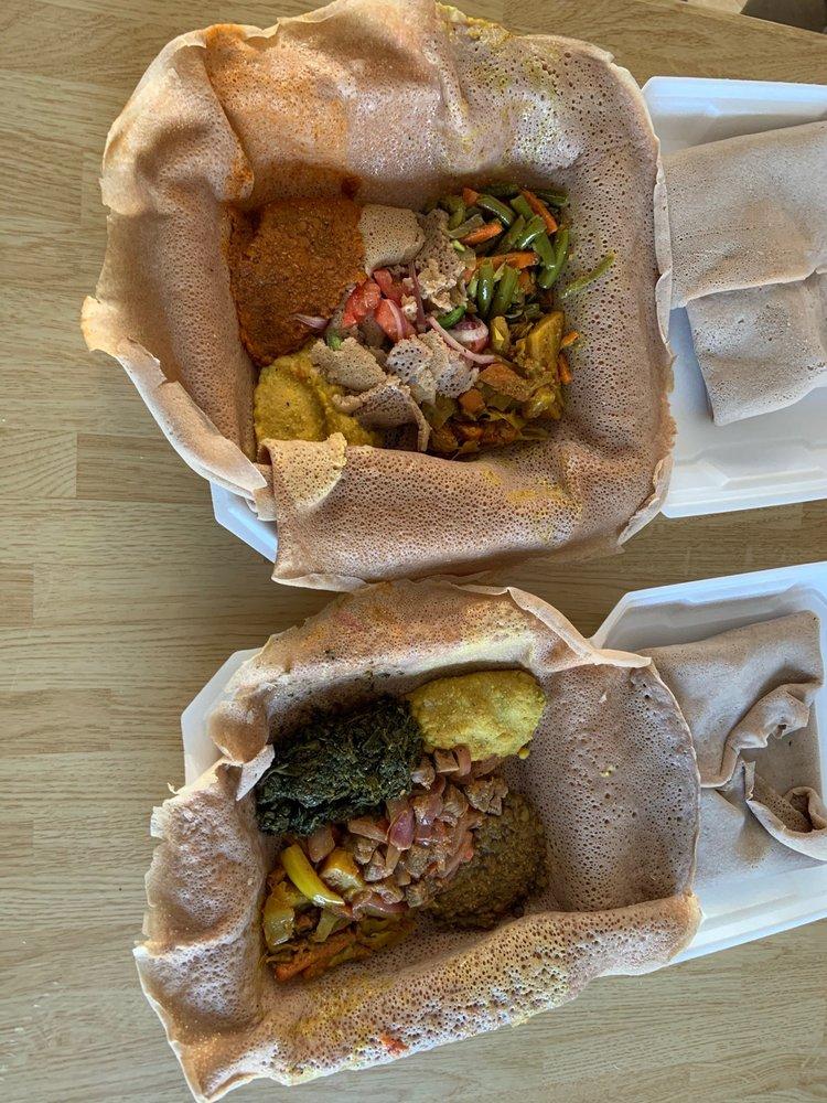 Food from Habesha Ethiopian and Eritrean Restaurant