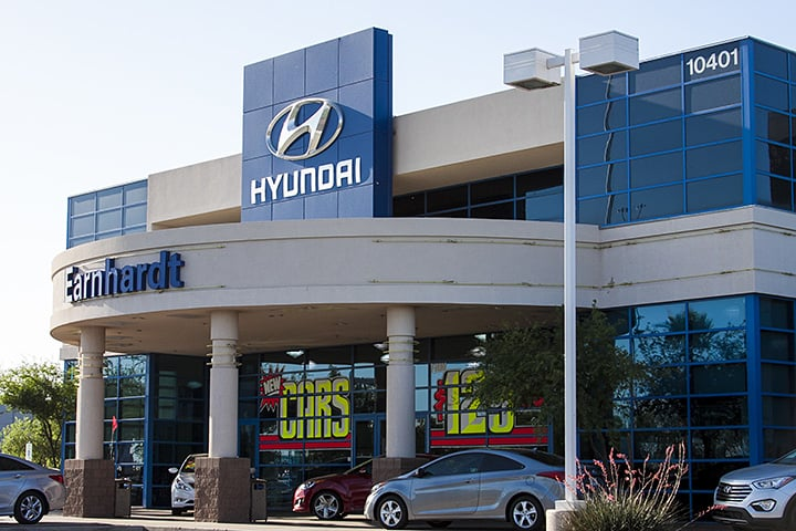 Earnhardt Hyundai in the Avondale Automall between 99th & 107th Ave