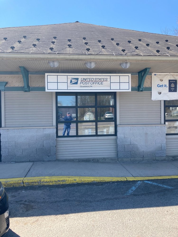 US Post Office: 546 Main St, Gouldsboro, PA