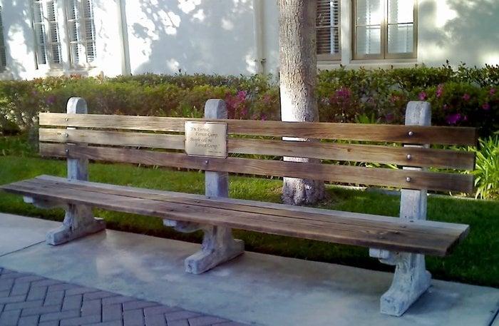 Forrest Gump S Park Bench Yelp