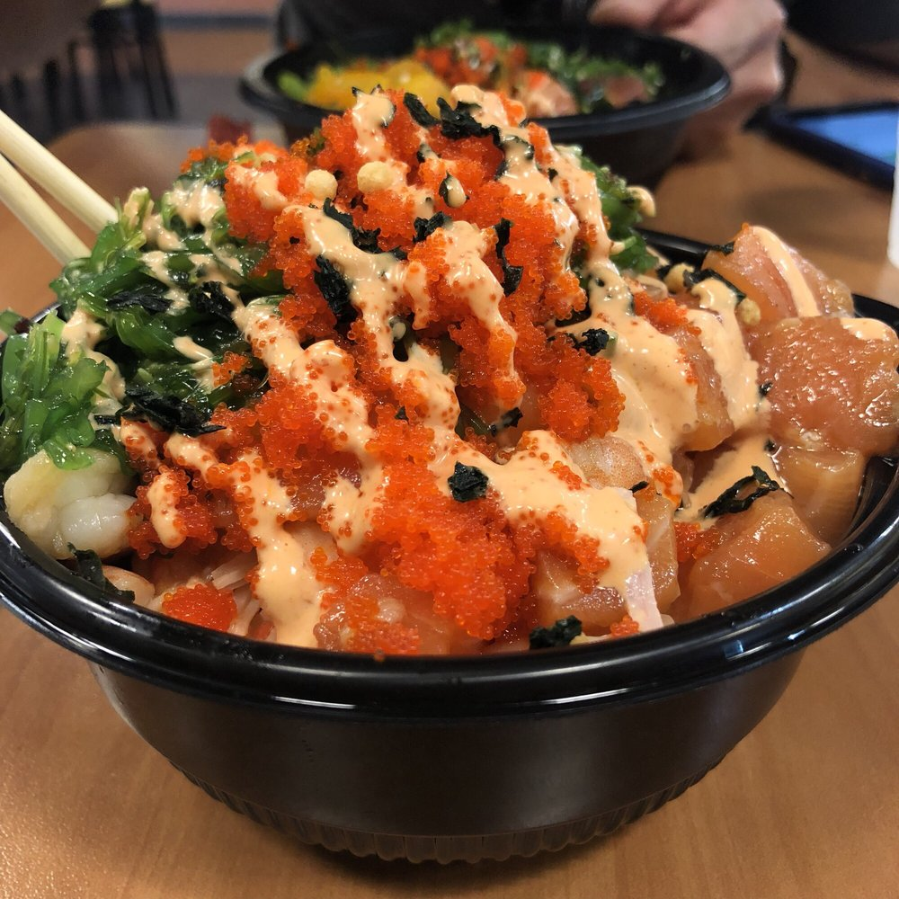 Food from 757 Poke'