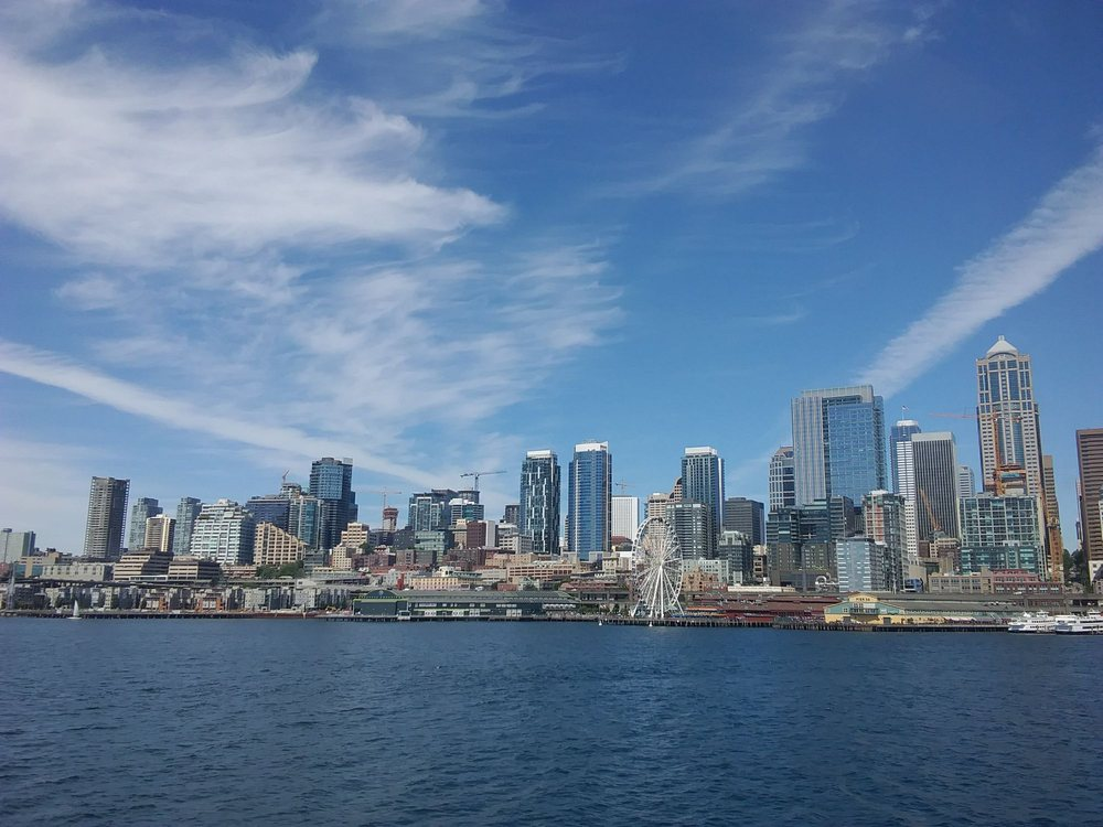 What a beautiful ride back to Seattle today! - Yelp