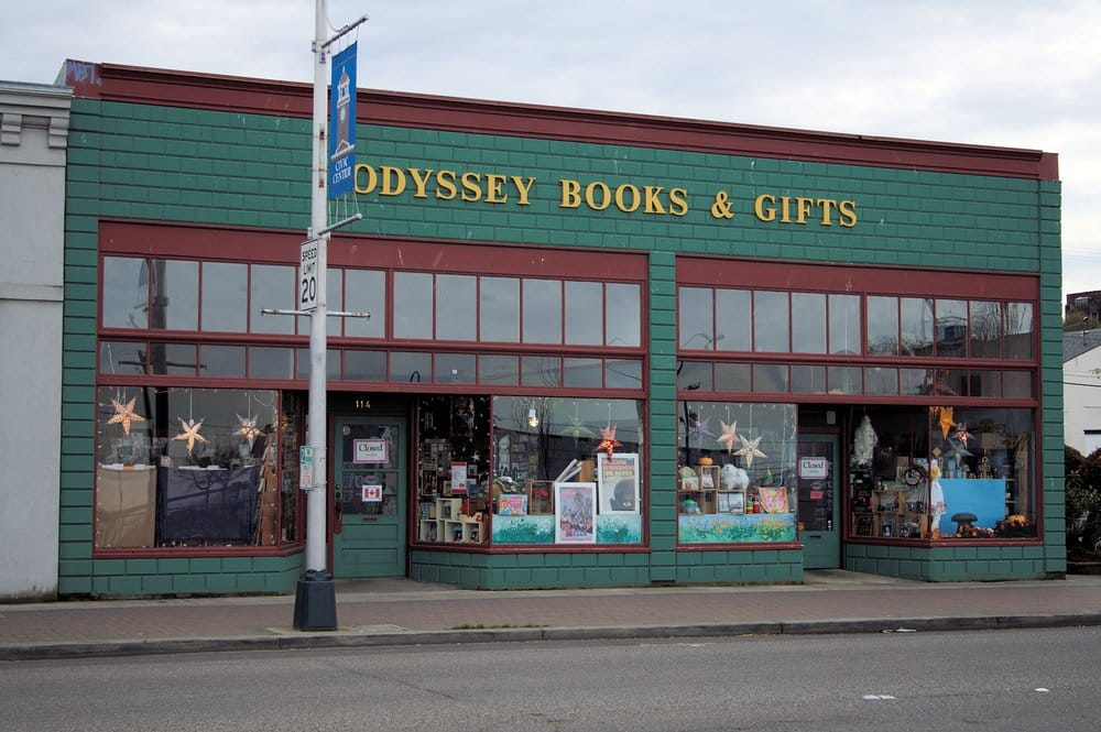 Odyssey Bookshop: 114 W Front St, Port Angeles, WA