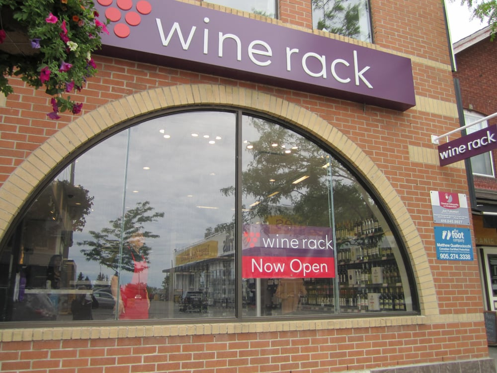 Wine Rack - Port Credit