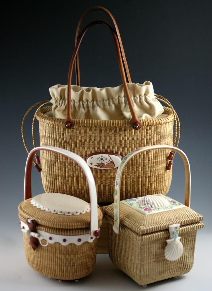 Handmade Nantucket Basket : Michael kane lightship baskets arts crafts a