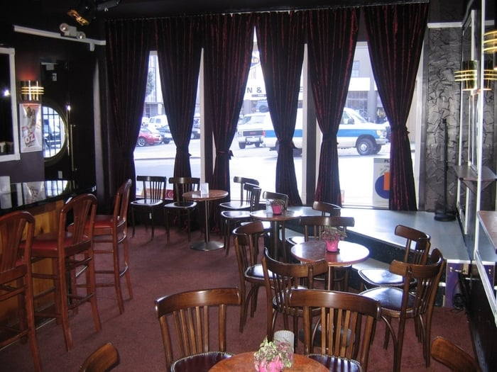 The deco lounge gesloten 17 foto 39 s 72 reviews homobars 510 larkin st tenderloin san - Deco lounge hout ...