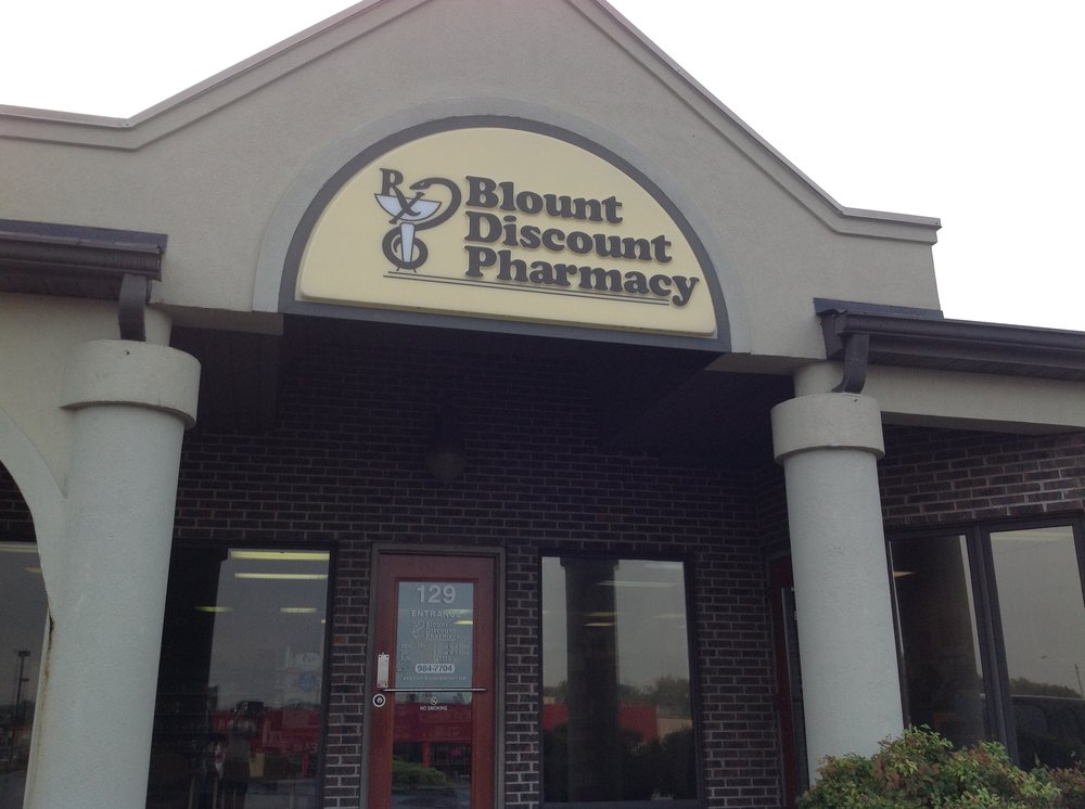 Blount Discount Pharmacy: 129 Gill St, Alcoa, TN