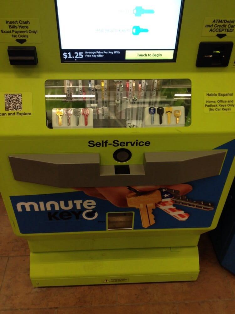 Key Machine Walmart >> Minute Key Machine Yelp
