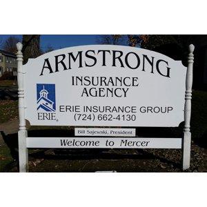 Armstrong Insurance Agency: 111 W Beaver St, Mercer, PA