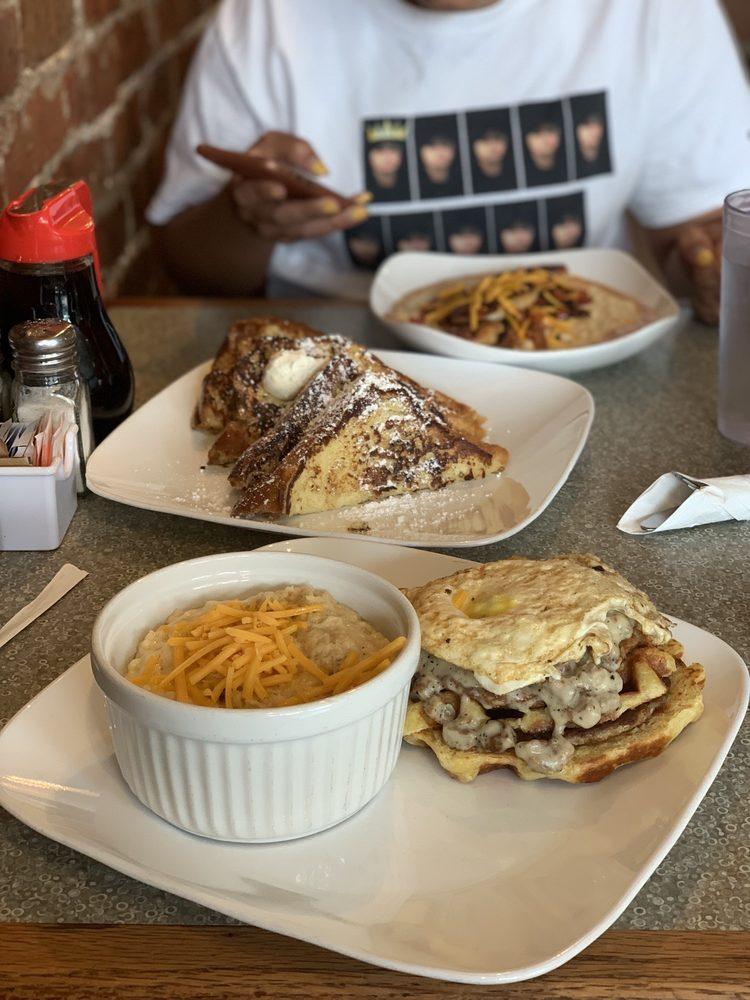 Grid Iron Waffle Shop
