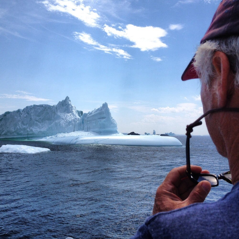 low priced 71cd3 c39bf The best tour guide in Newfoundland. Iceberg Man Cecil. - Yelp