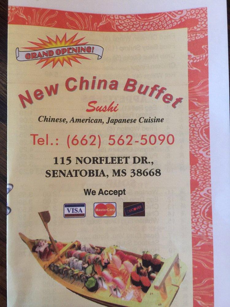 New China Buffet: 115 Norfleet Dr, Senatobia, MS