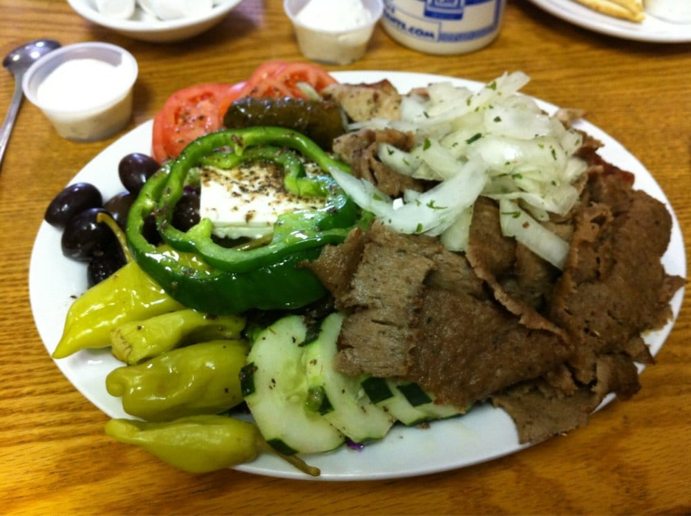Photo of Pete's Gyros Place - Denver, CO, United States. Dino's Combo Plate