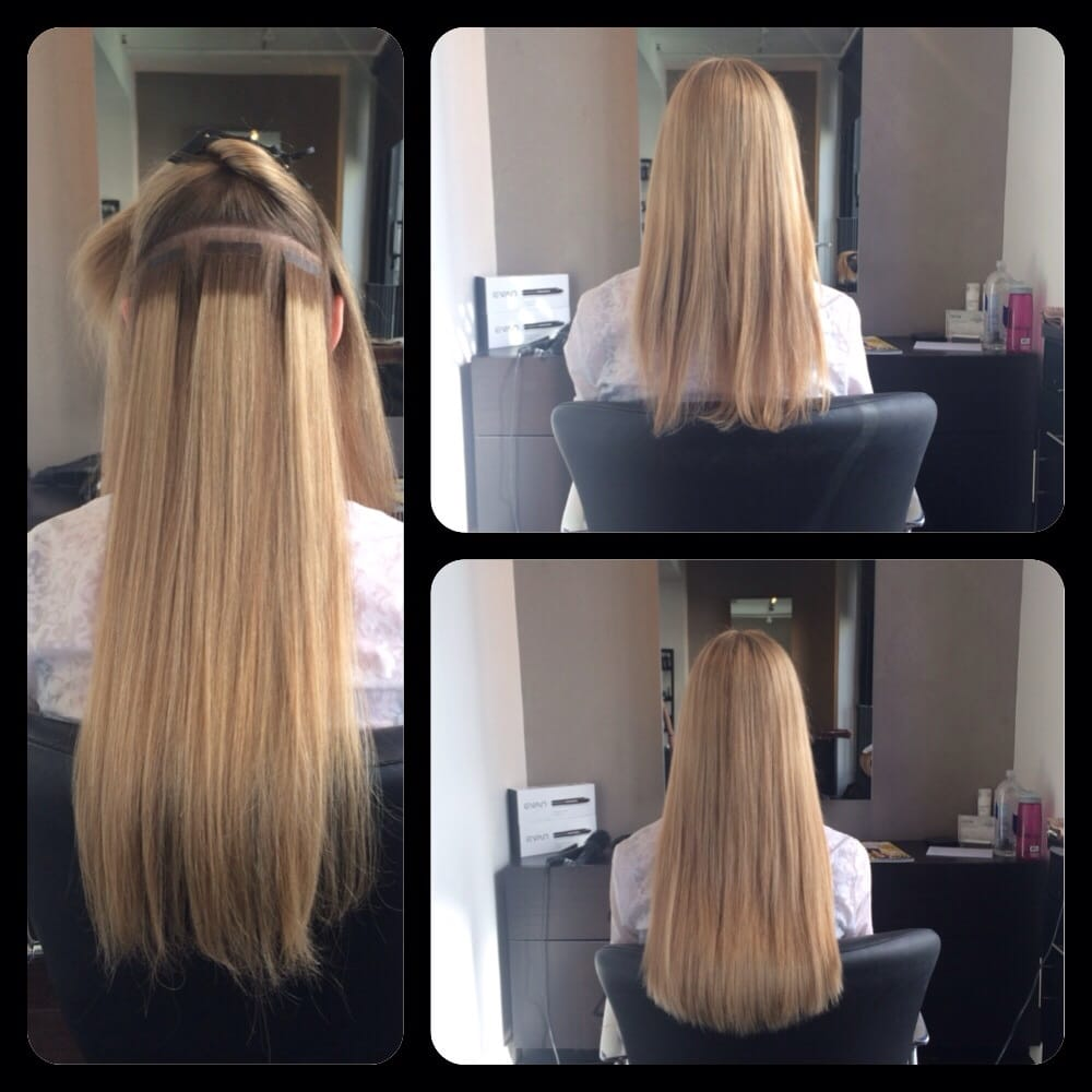 Hot Heads Hair Extensions Rooted Extensions For Blondes By Lauren