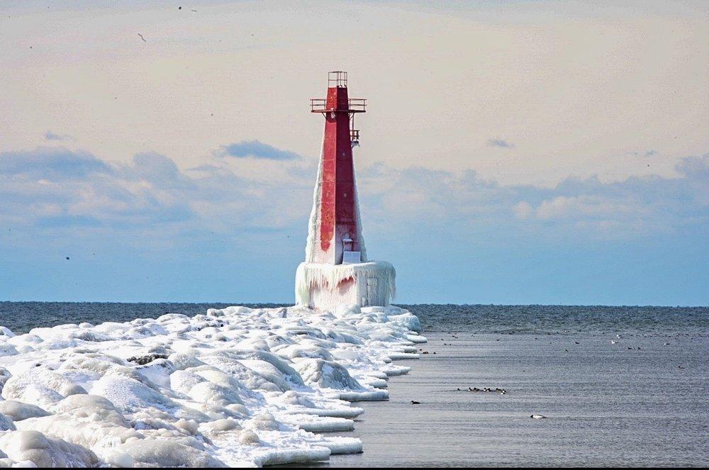 Muskegon South Pierhead Light Tower: 1431 Beach St, Muskegon, MI