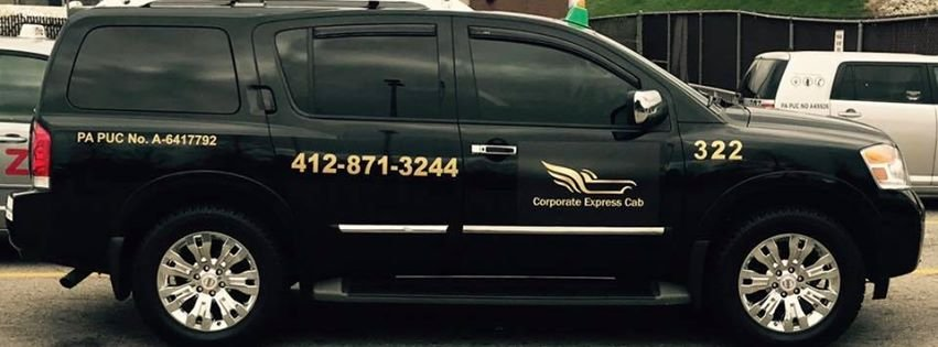 Corporate Express Cab: 1000 Integrity Dr, Pittsburgh, PA