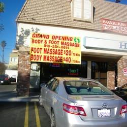what is a veggie massage Glendale, California