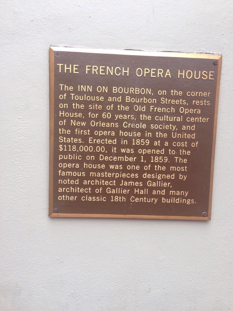 Old Opera House Annex: 811 Toulouse St, New Orleans, LA