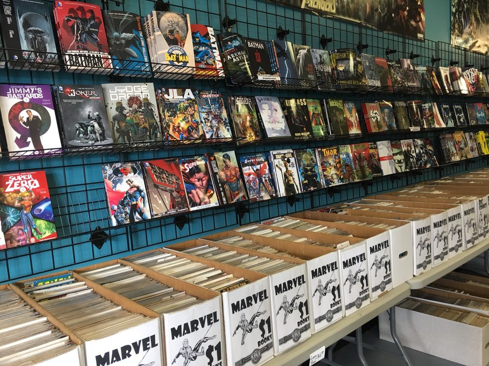 Heroes Haven Comics & Games: 296 E US Hwy 20, Michigan City, IN