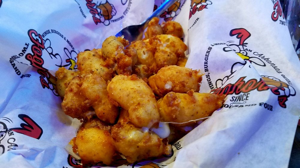 Foghorn's Wings Burgers & More: 1545 W 15th St, Fayetteville, AR