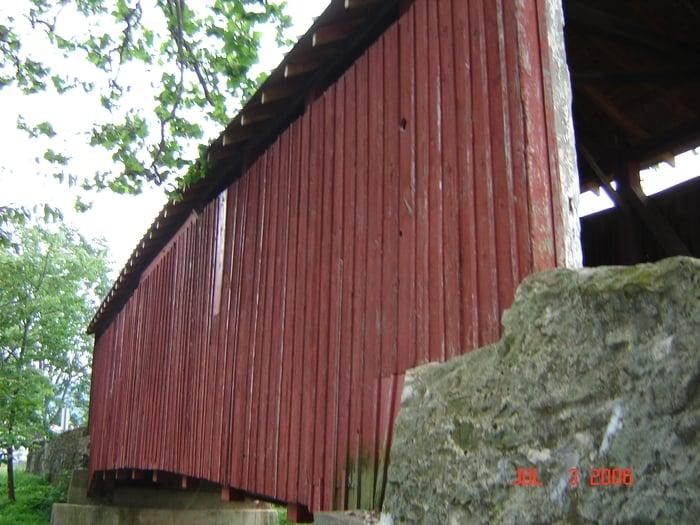 New Germantown Covered Bridge: Lower Buck Ridge Rd, New Germantown, PA