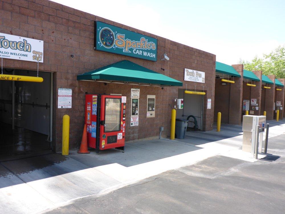 Sparkles Car Wash: 180 E Fiddlers Canyon Rd, Cedar City, UT