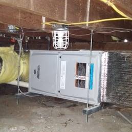 lennox horizontal furnace installation yelp. Black Bedroom Furniture Sets. Home Design Ideas