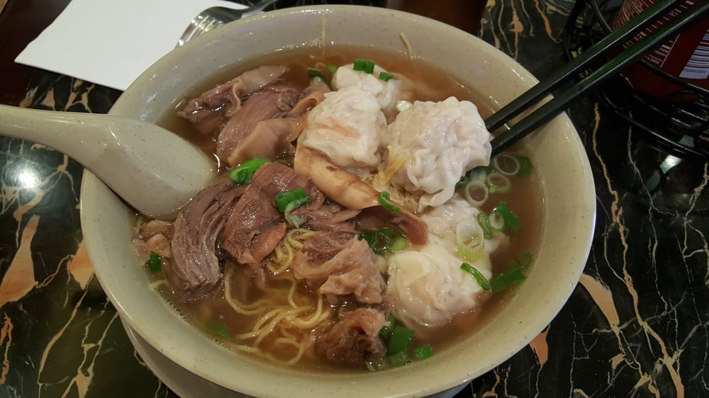 Wonton Noodle Soup With Beef Stew Yelp