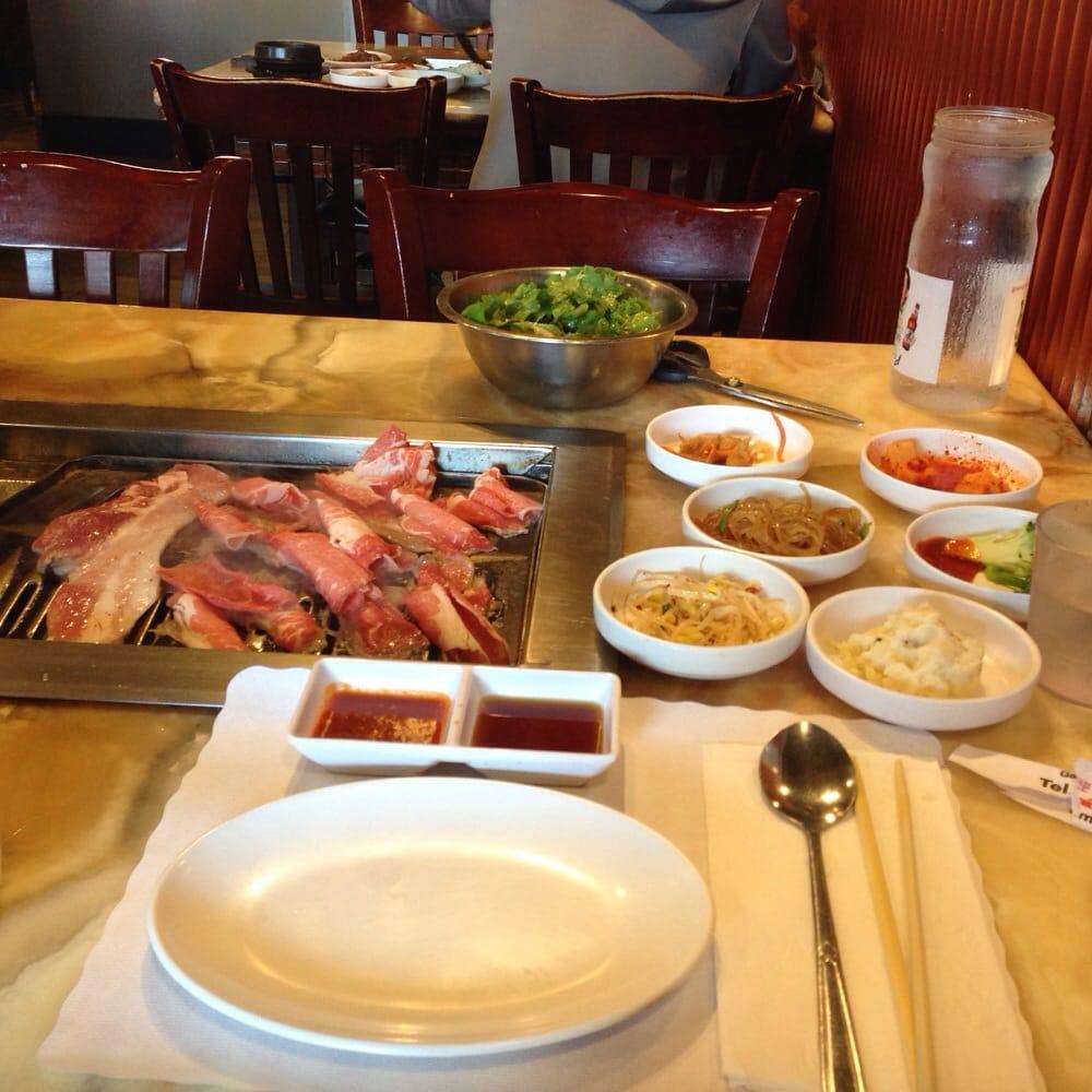 First round of meat yelp for Korean restaurant garden grove