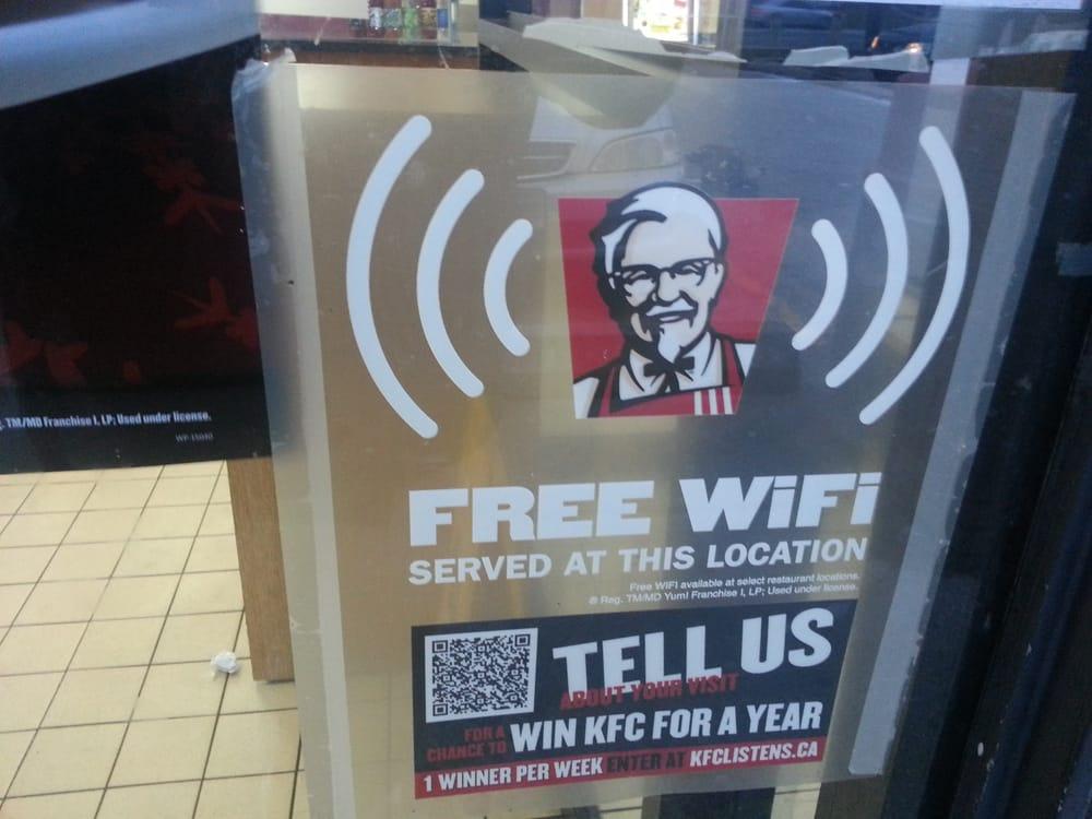Free wifi while you wait - Yelp