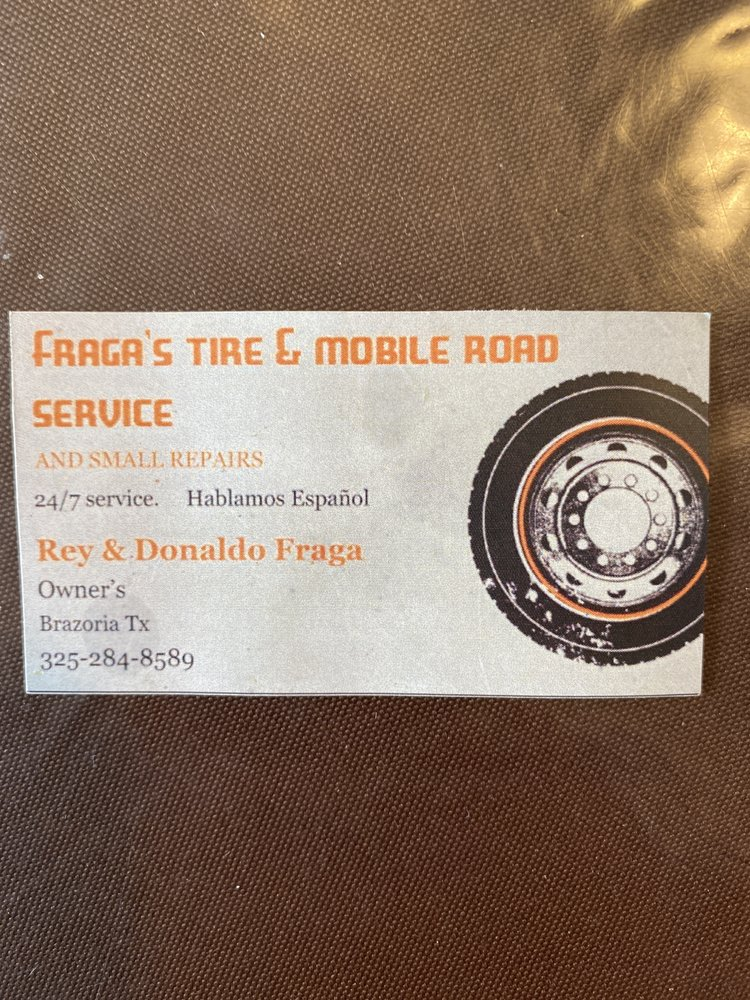 Fraga's Mobile Tire Service: Brazoria, TX