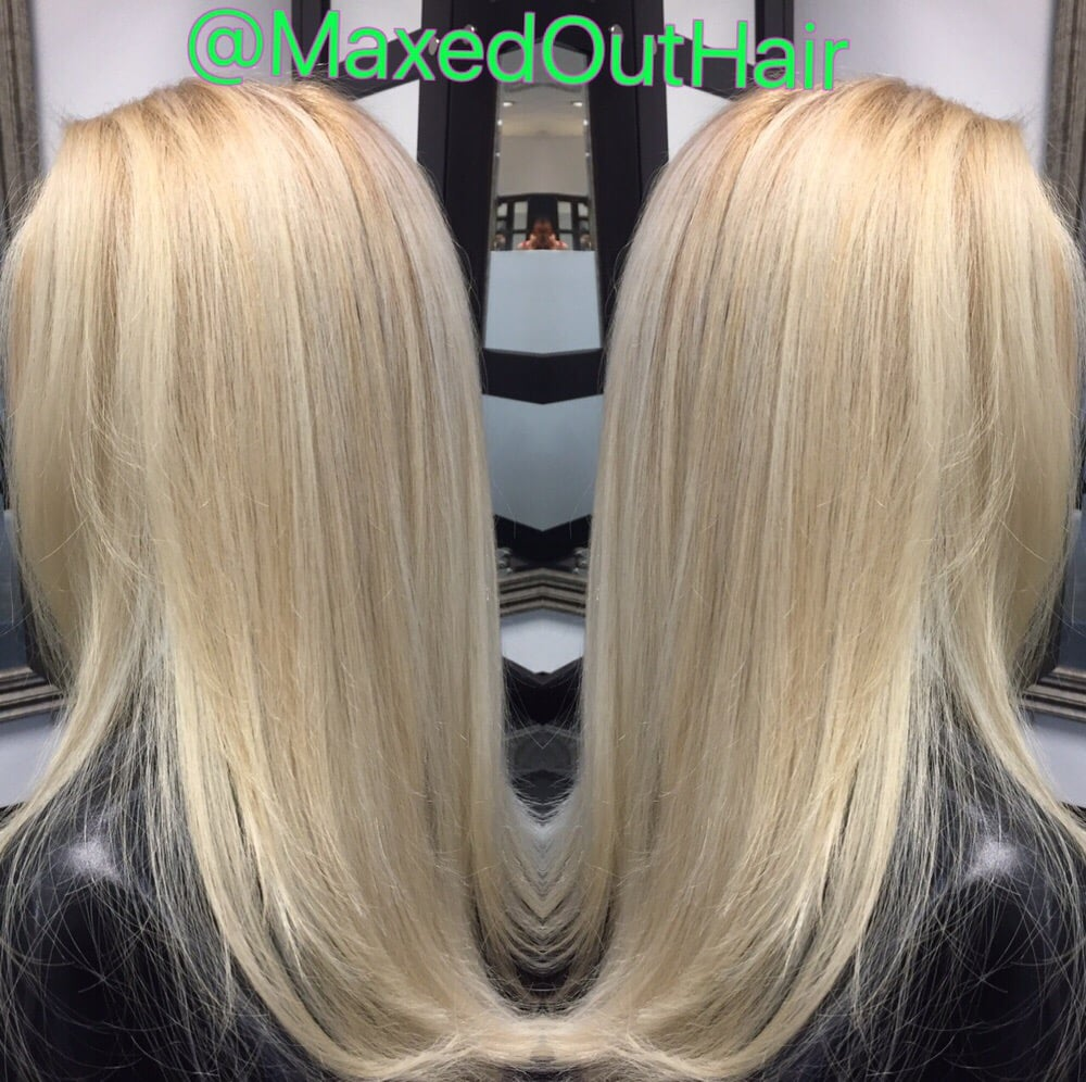 Winter White Highlights On A High Lift Blonde Base Yelp