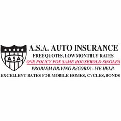 Asa Auto Insurance Phone Number