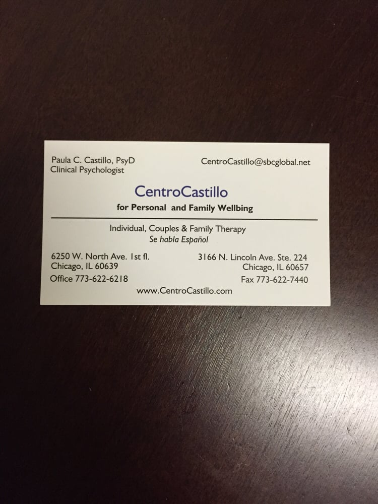 Centro Castillo for Personal and Family Wellbeing - Counseling ...